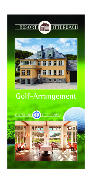 Golf-Arrangement Residenz Itterbach