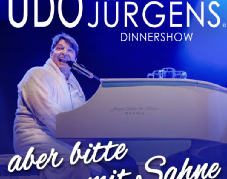 A Tribute to Udo Jürgens Dinnershow am 19. Juni 2021
